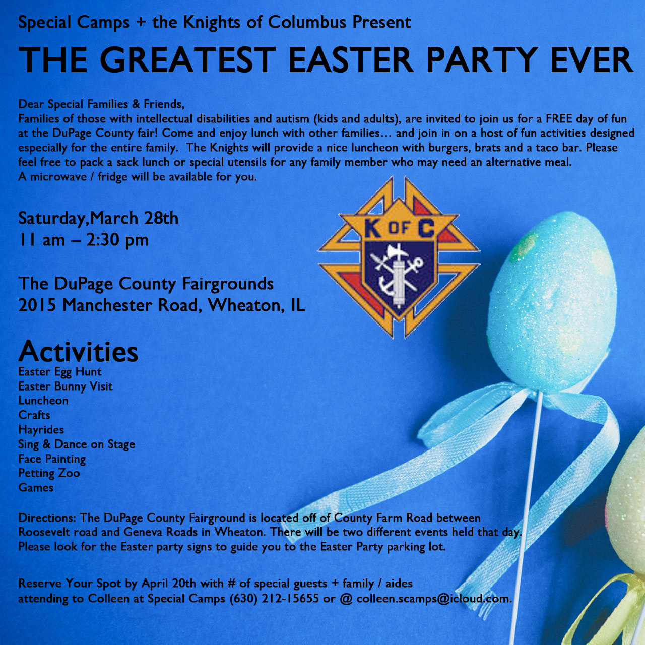 2020 EASTER PARTY!